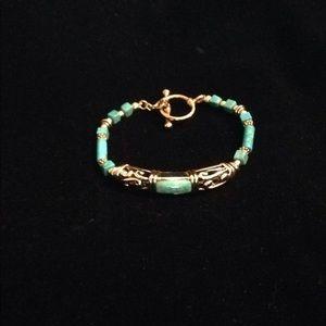 Studio Barse Gem-scroll Toggle Bracelet